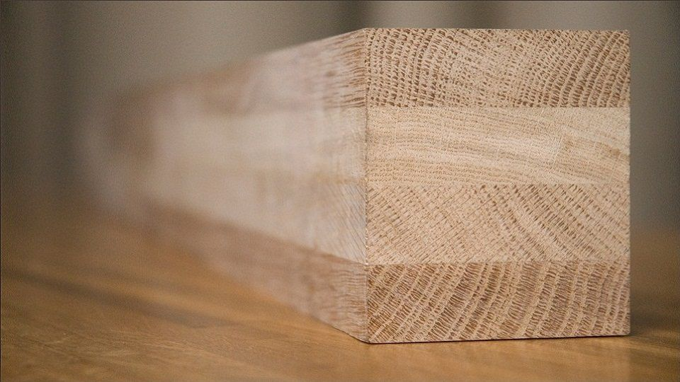 Profiles of glued laminated timber